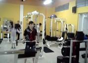 Gimnasio de pesas profesional