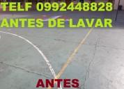 Telef 022428098 limpieza de canchas deportivas de