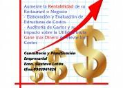 Estudios y análisis de costos empresariales