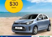 Alquiler de vehículos desde $30 diarios