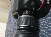 Camara profesional canon 550d