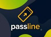 Plataforma passline para organizadores de eventos