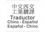 Traductor intérprete español chino en china shangh