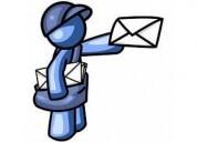 Servicio de mensajería y compras a domicilio