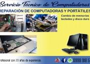 Reparación de computadoras portátiles - sangolquí