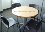 Mesas de reunión -muebles de oficina quito
