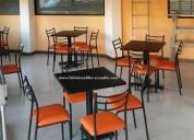 Venta de mesa de restaurante y 4 sillas quito
