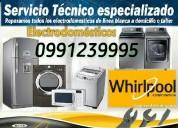 Reparacion  de lavadoras whirlpool     0991239995