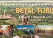 Organización de viajes, paseos, tours betel turis