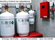 Sistemas control de incendio. whatsapp 0981412606
