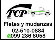 Tcp alquiler de camioneta y camiones para fletes