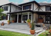 En venta casa tipo quinta estilo rustico -valle