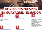 Oficina profesional ecuador