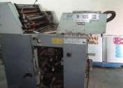 Vendo maquina harris offset 125 c
