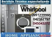 Servicio técnico whirlpool 0991239995 ecuador