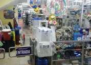 Vendo negocio de plasticos