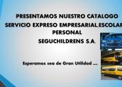 Servicio expreso empresarial , escolar y personal