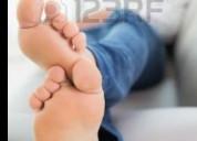 Masajes en los pies para caballero