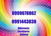 Quito llámanos al teléfono ,0991443030,0999078862
