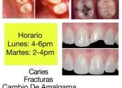 Atención odontología gratuita
