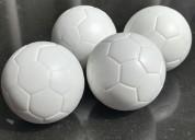Pelotas futbolin  importadas acrÍlico