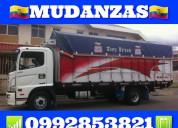 Mudanzas transporte viajes 0992853821