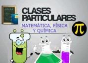 Tutorias bilingues de química ,matemática y física