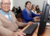 Quieres aprender a usar la comput. y el  internet?