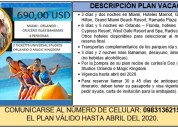 Plan vacacional - florida usa