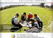 FormaciÓn de facilitadores outdoor training