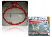Aro de basquet doble anillo