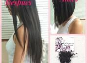 Descuentos del 50% y 15% en extensiones de cabello