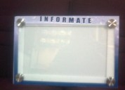 Carteleras informativas en acrÍlico 0984660771