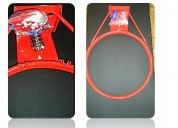 Anillo de basquet con red