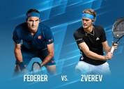2 entradas seguidas para federer vs zverev