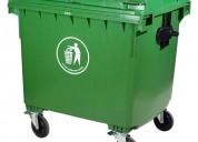 Contenedor de basura 1100 litros, punto ecológico