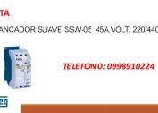 Arrancador suave ssw 05  45a.