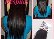 Promocion de extensiones de cabello 100% natural