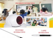 Video proyector pizarron  interactivo