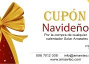 Fin de año  calentador solares