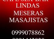 Masajes erÓticos quito/cafe sex bar/0991443030 $30