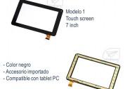 Repuesto touchscreen 7pulg