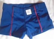 Pantaloncillo de baño short corto azul marino t.23