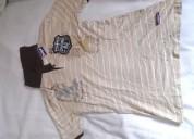Camiseta polo manga corta para hombre café claro t