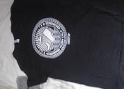 Camiseta negra talla s rolyatomic150