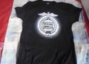 Camiseta original negra talla s rolyatomic150