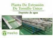 Planta de extrusión de tornillo Único mksle-90 mee