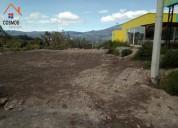 Venta de terreno en otavalo sector pinsaqui
