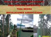 InstalaciÓn de Áreas deportivas en toda medida