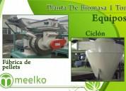Planta de biomasa 1 ton meelko